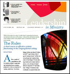 Leadership in Ministry Workshops summer newsletter | Digital Flipchart
